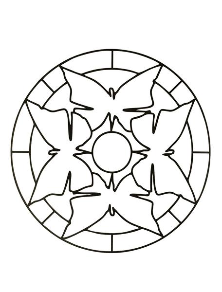 tatouage chat mandala