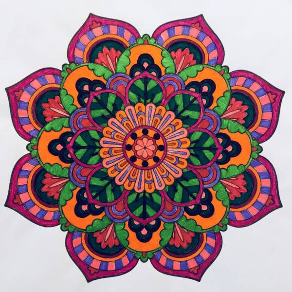 tatouage belier mandala