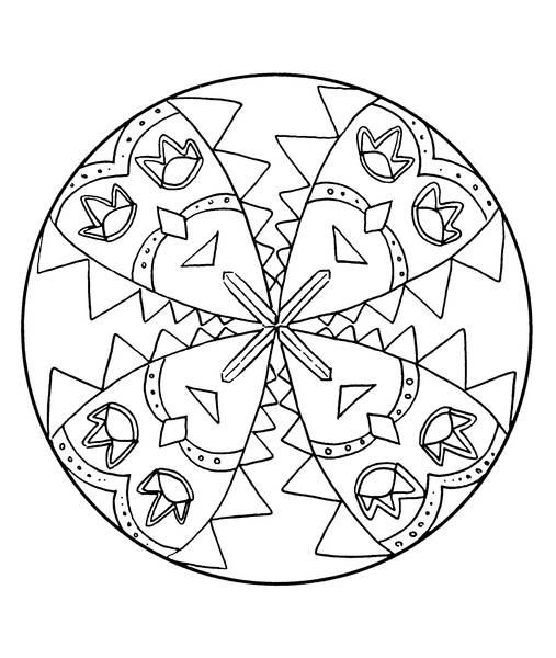 tatouage taureau mandala